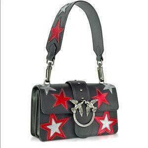 NEW PINKO Mini Love Stars Bag